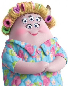 Ms Squibbles Monsters Inc